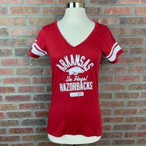 Champion Arkansas Razorbacks Graphic Tee, Sz S